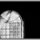 Arched Window Monochrome #2 by Wayne King