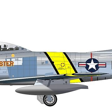 KOREA, Korean War, JET, FIGHTER, War Bird, North American, F-86, Sabre, airplane, Fighter, North Korea by TOMSREDBUBBLE