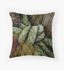 knotwork Throw Pillow