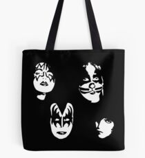 KISS - STENCIL - ART Tote Bag