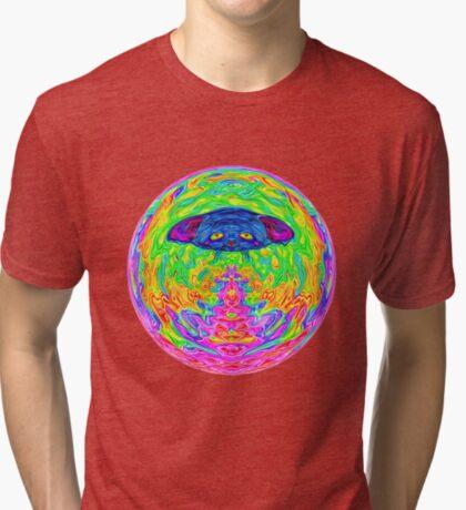 Unidentified Flying CatBat Tri-blend T-Shirt