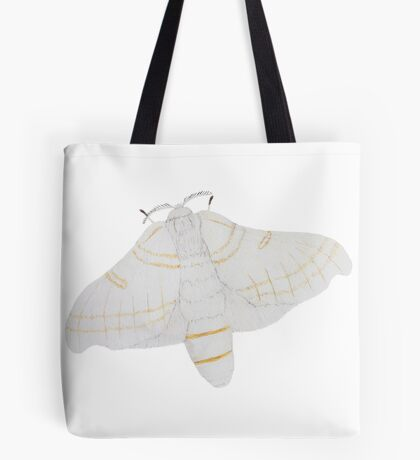 Silk moth from above Tote Bag