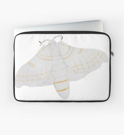 Silk moth from above Laptop Sleeve