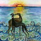 Sunset and True Love by Elle J Wilson