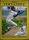 316 - Tony Fernandez by Foob's Baseball Cards