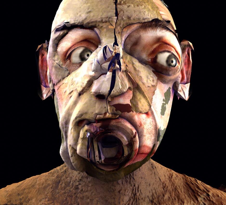 Headhunter 2 by Polygonist