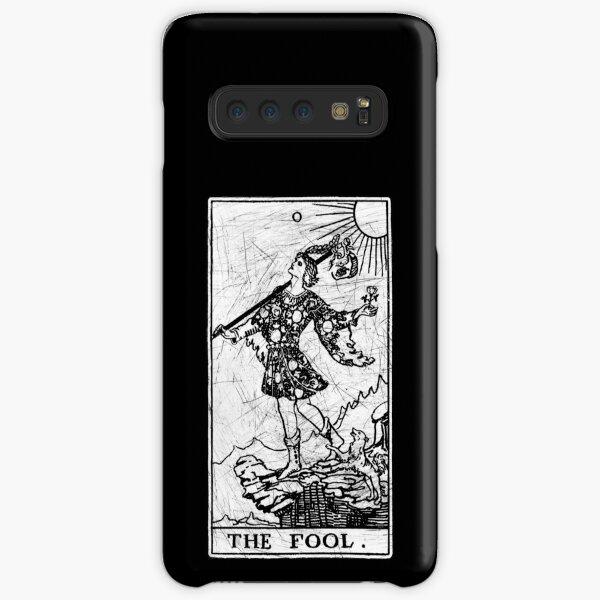 The Fool Tarot Card - Major Arcana - fortune telling - occult Samsung Galaxy Snap Case