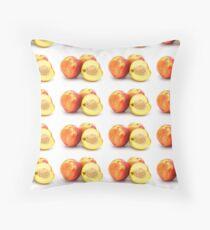 peach Throw Pillow