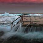 North Cronulla Ocean Pool Sydney  by Toni McPherson