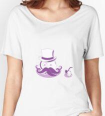Poulpe à moustache gentleman octopus Women's Relaxed Fit T-Shirt