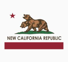 Fallout New Vegas - NCR Logo (New California Republic) | Hoodie (Pullover)