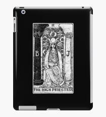The High Priestess Tarot Card - Major Arcana - fortune telling - occult iPad Case/Skin