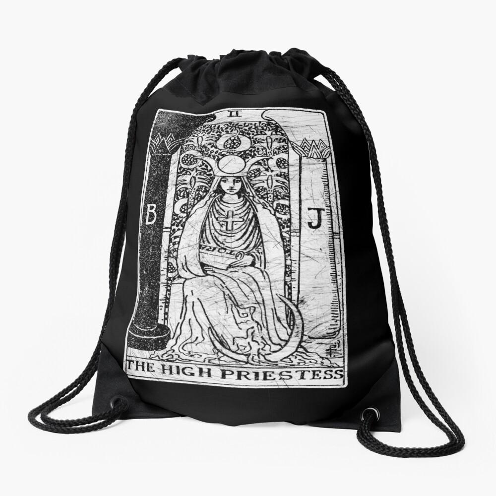 Die Hohepriesterin Tarot Card - Major Arcana - Wahrsagerei - okkult Turnbeutel