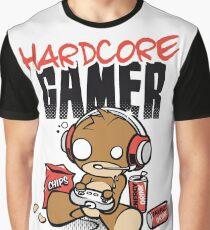 Hardcore Gamer Graphic T-Shirt