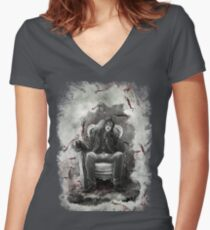 The Half Breed Mr Quinlan Women's Fitted V-Neck T-Shirt