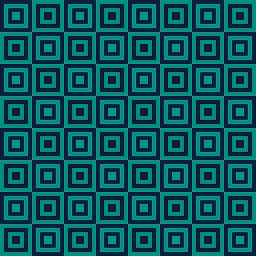 Geometric Pattern: Square Strobe: Green by redwolfoz