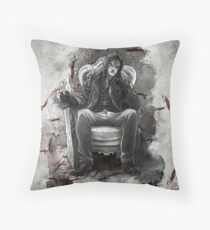 The Half Breed Mr Quinlan Throw Pillow