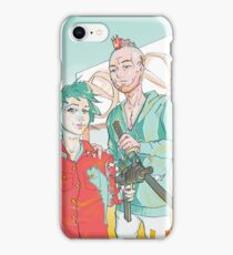 Two bad assets iPhone Case/Skin
