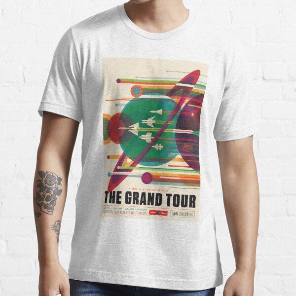Arte del póster de Grand Tour de la NASA Camiseta esencial