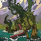 The Call of Cthulhu - Art by Andrey Fetisov by Chaosium