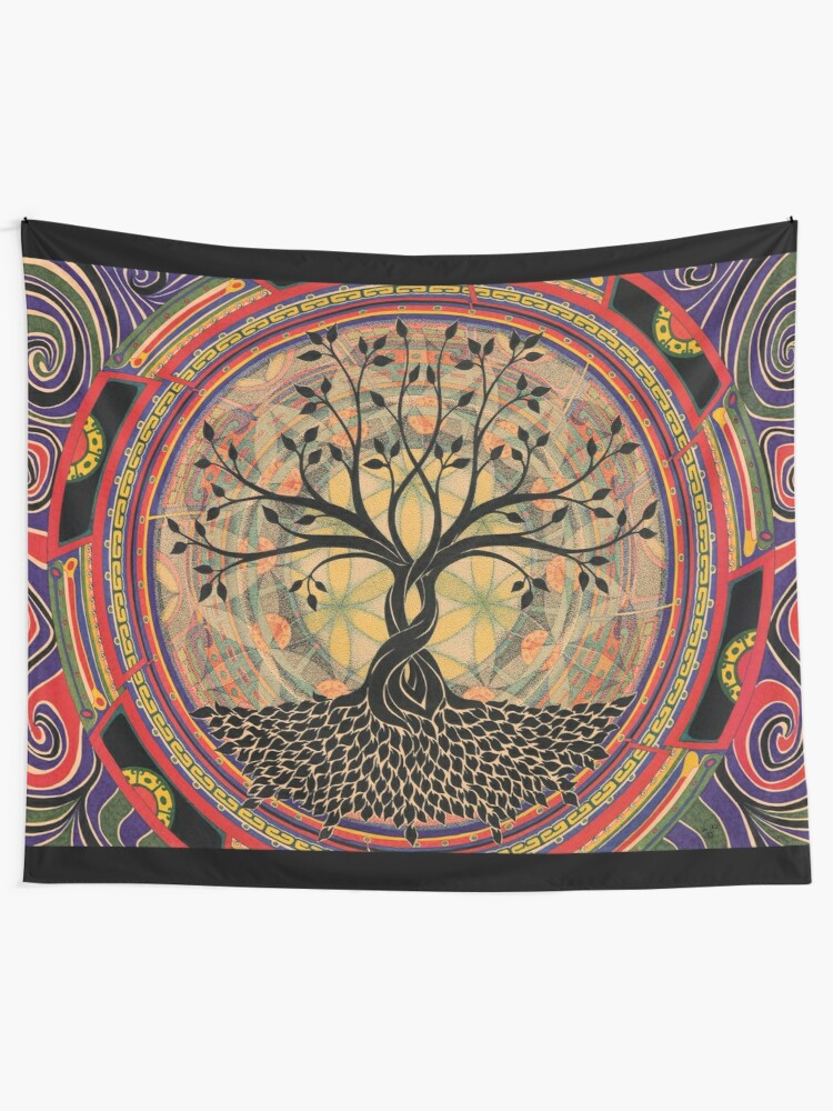 Alternate view of Life:Tree Tapestry