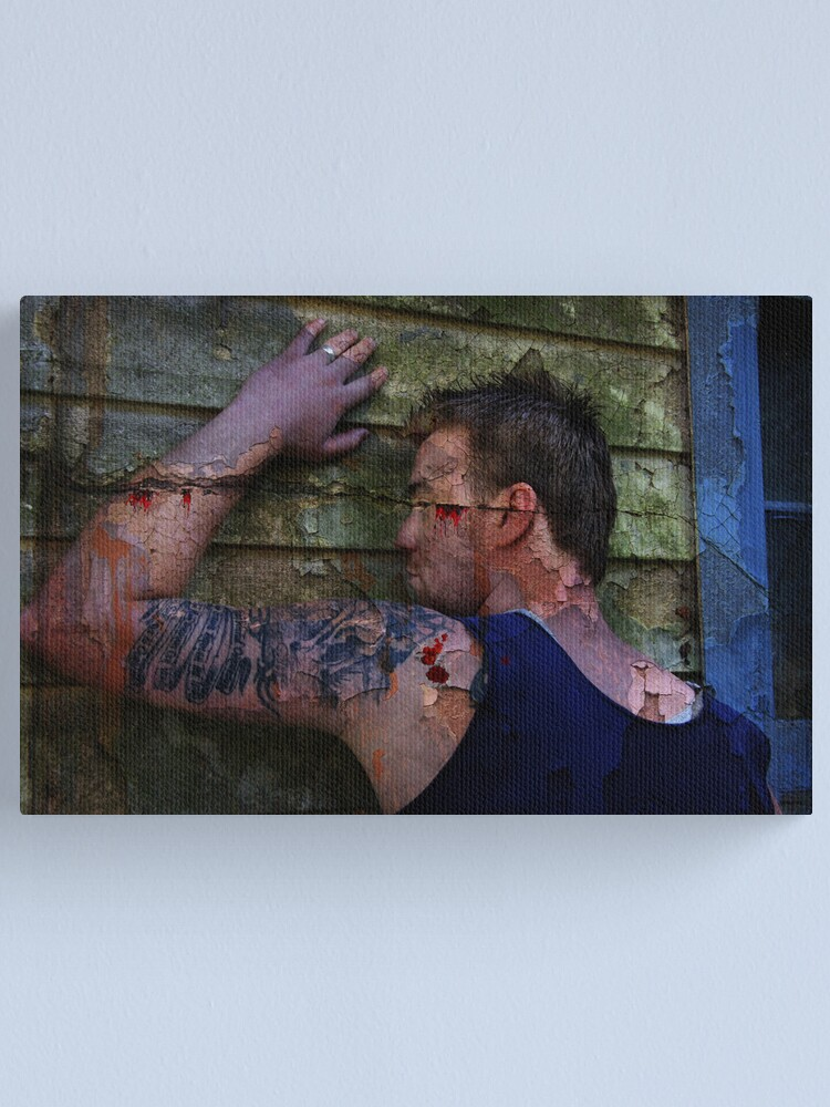 Alternate view of Cracks Canvas Print