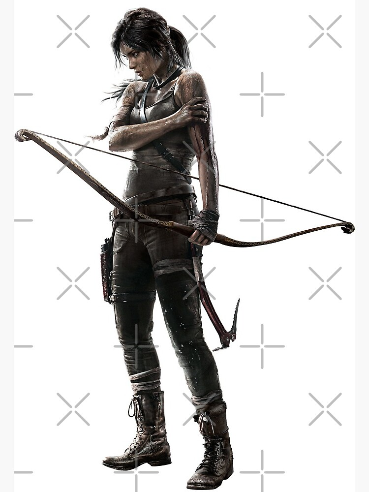 Lara Croft Tomb Raider 2013 Postcard By Spyrosmonster Redbubble