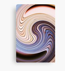 Wooden Chaos Canvas Print