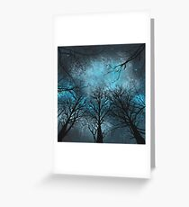The Night Of The Storm Greeting Card