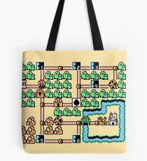 Super Mario Bros 3 World 1 Tote Bag