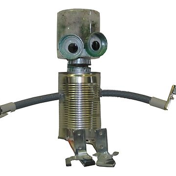 Little Robot by Bobby by hamletcentre