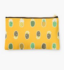 Summer Vibes Pineapple Drawings Studio Pouch