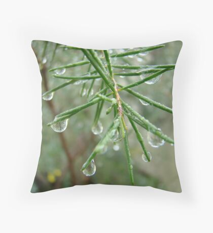 glittering images Throw Pillow