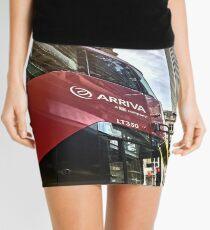 London Bus & Skyscraper Mini Skirt