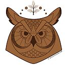 Of the Wood: Owl by Narumi