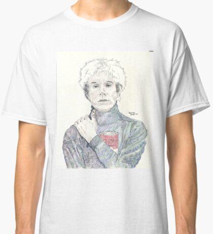 Andy Warhol pop art soup artist pointillism Classic T-Shirt