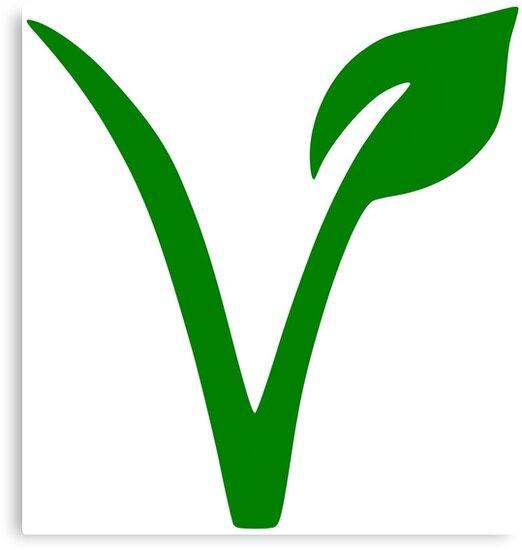 Resultado de imagen de simbolo vegano