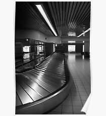 3 AM AT THE AIRPORT BAGGAGE MOVER Poster
