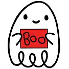BOO! A little ghost tries it's best x by Ben Cameron