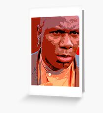 Ving Rhames - Marsellus wallace Greeting Card