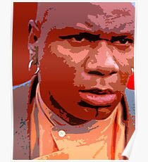 Ving Rhames - Marsellus wallace Poster
