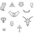 Illuminati Sticker Pack by Porto881