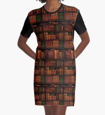 Books - Library - Books - Bookworm - Reading - Bibliophile - Book Bag - Dress - Shirt Graphic T-Shirt Dress