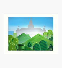 Castle 64 Art Print