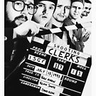 Shooting Clerks Poster Shirt by auldreekiemedia