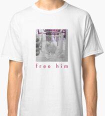 White Dog in Glass Prison Classic T-Shirt