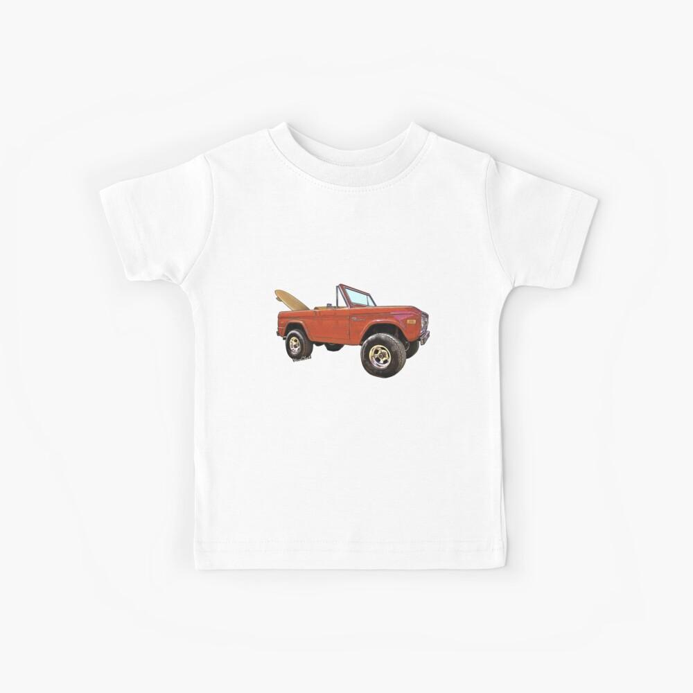 Surf Bronco Tee y cosas de VivaChas! Camiseta para niños