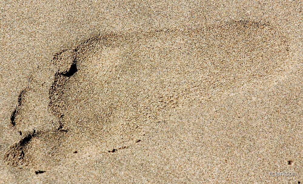 footprint by tclarkson