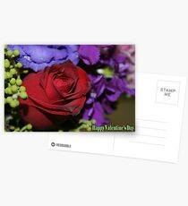 Happy Valentine's Day, Greeting Card Postcards