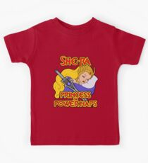 She-Ra Princess of Power Naps Kids Tee